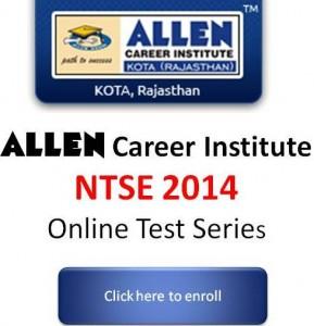 ALLEN-NTSE-2014-Online-Test-Series