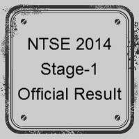 NTSE 2014 stage 1 Official Result