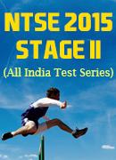 NTSE 2015 Stage-2 Test Series - ALLEN