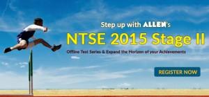 ALLEN NTSE 2015 Stage-2 Test Series