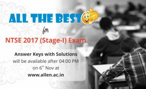 NTSE Stage 1 Answer Key & Solutions
