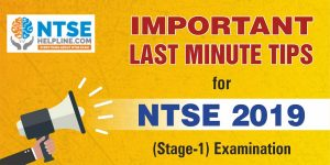 Important Tips for Last Minute Preparation for NTSE 2019