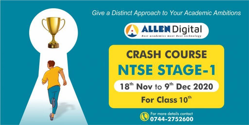 ntse crash course