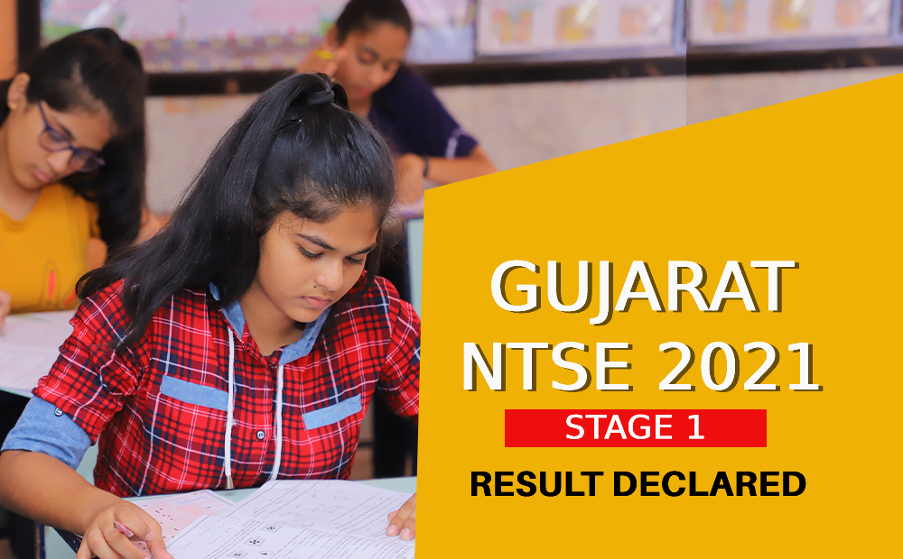 gujarat ntse 2021 stage 1 result